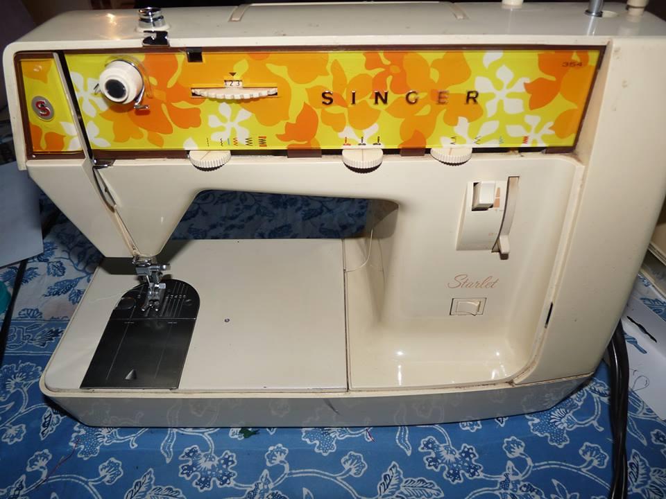 avis machine coudre starlet singer 354 laucaly cr ations. Black Bedroom Furniture Sets. Home Design Ideas