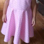La robe vintage, Patron pour femme et fillette